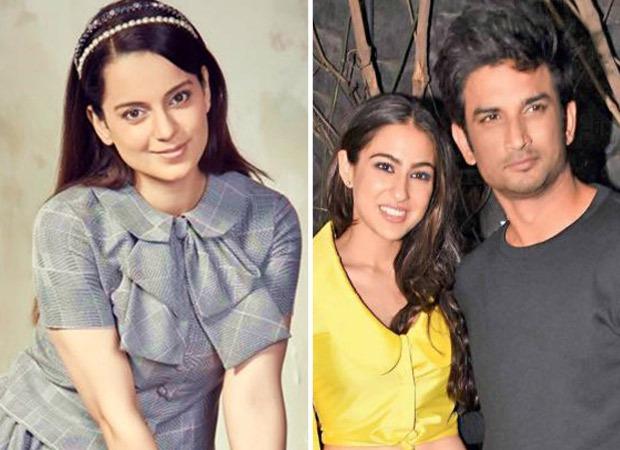 Kangana Ranaut claims movie mafia ensured Sushant Singh Rajput & Sara Ali Khan's break up