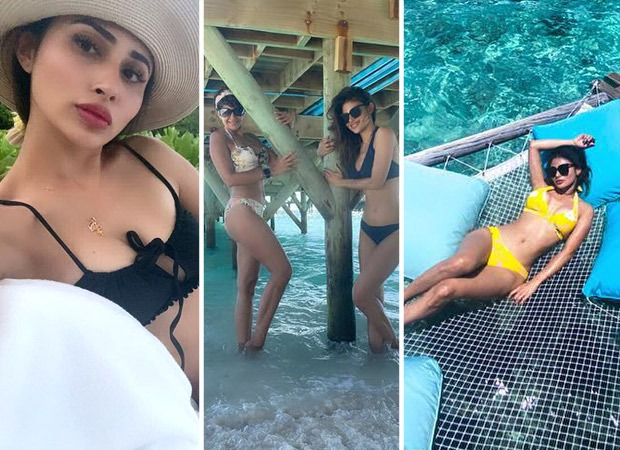 Mouni Roy sizzles in bikinis as she rings in her 35th birthday with her friends in Maldives : Bollywood News - Bollywood Hungama