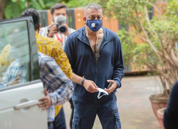 Sanjay Dutt heads to YRF to wrap Shamshera amid cancer treatment