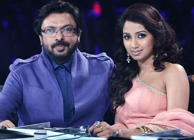 Sanjay Leela Bhansali records a song with Shreya Ghoshal