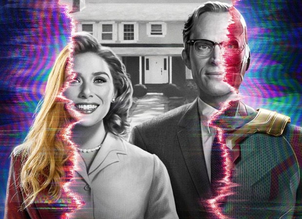 WandaVision: Two superheroes Elizabeth Olsen and Paul Bettany live idealized suburban lives in the first trailer