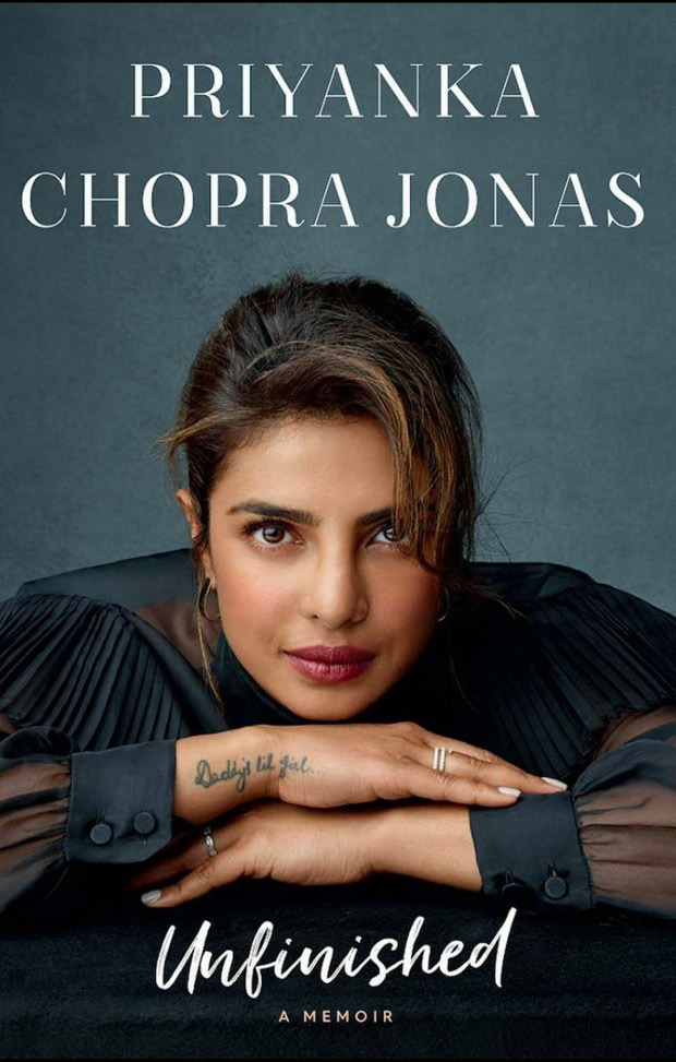 Priyanka Chopra Unveils The Cover Of Her Memoir Unfinished Says The Title Has A Deeper Meaning Bollywood News Bollywood Hungama This information is enough to give a clear idea about the name. priyanka chopra unveils the cover of