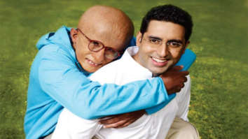Abhishek Bachchan says Amitabh Bachchan has never produced his films, in fact he has produced Paa for the latter