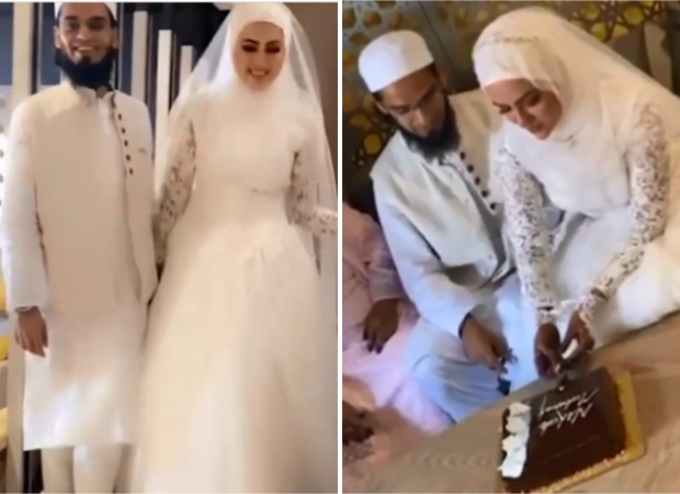 After quitting showbiz, Sana Khan marries Mufti Anas in private ceremony in Surat