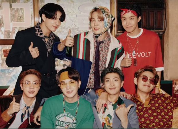 BTS is taking you down the memory lane with their retro ...