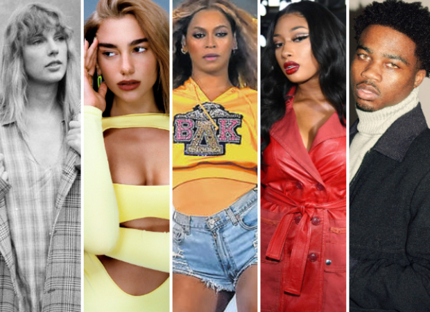 GRAMMYs 2020 Nominations: Taylor Swift, Dua Lipa, Beyonce, Megan Thee Stallion, Roddy Ricch receive nods