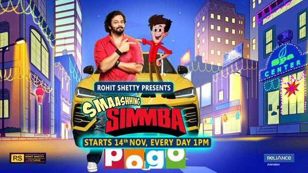 Rohit Shetty's Smashing Simmba to premiere on November 14 on Pogo