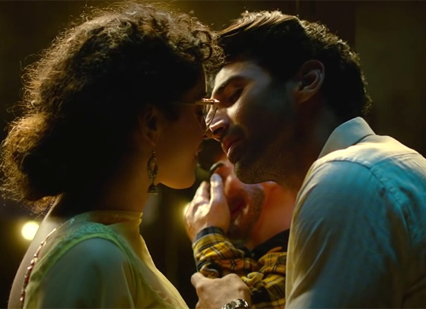Sanya Malhotra opens up about lovemaking scenes with Aditya Roy Kapur; says there was hesitation and nervousness