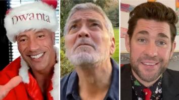 Dwayne Johnson as Santa Claus, George Clooney as weatherman - John Krasinski returns with Christmas special of Some Good News