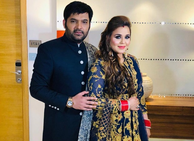 Kapil Sharma has to wittiest excuse for being busy on his second wedding anniversary with wife Ginni Chatrath