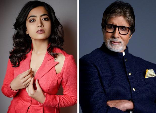 Rashmika Mandanna signs her second Bollywood film, to star alongside Amitabh Bachchan in Vikas Bahl's next