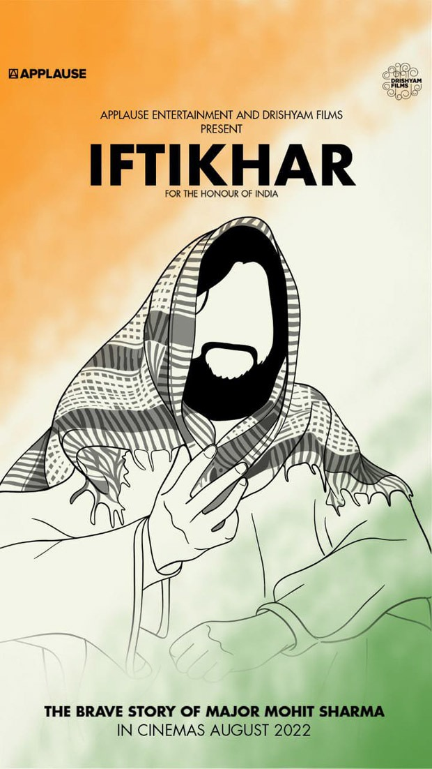 Applause Entertainment and Drishyam Films' Iftikhar, based on Ashok Chakra awardee Major Mohit Sharma, to begin filming in September
