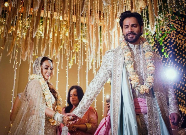 FIRST PICS OUT! Varun Dhawan and Natasha Dalal look like the quintessential Indian couple in their wedding attires