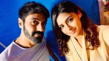 Pranati Rai Prakash shared selfie with Arjun Rampal from the sets