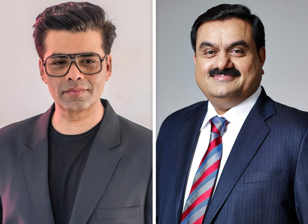 SCOOP Karan Johar's Dharma Productions in talks with Adani Group to sell 30% stake (1)