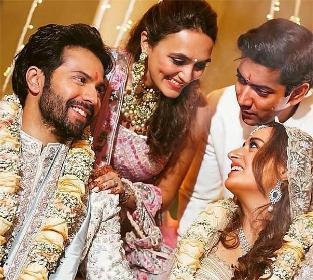 Varun-Natasha Wedding: Natasha and Varun seen in this