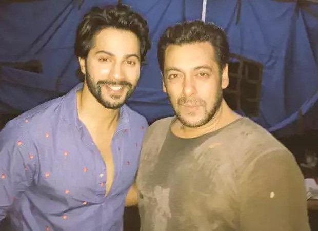 Varun Dhawan to shoot a song with Salman Khan for Antim