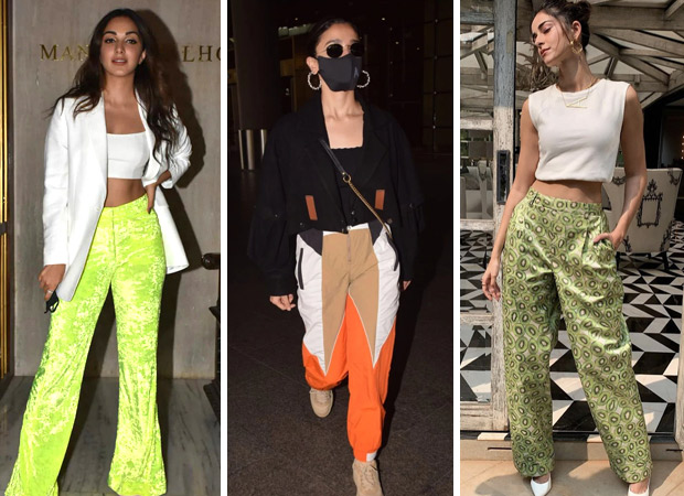 From Kiara Advani, Alia Bhatt to Ananya Panday Bollywood beauties are obsessed with flared, fancy trendy pants in 2021 (2)