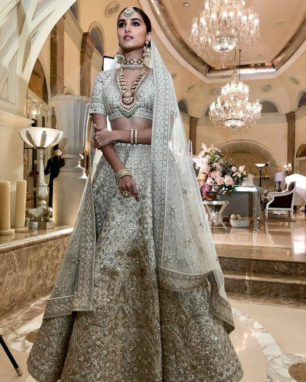 Tara Sutaria's ethnic love grows stronger with the classic Anita Dongre embellished lehenga worth Rs. 3.1 lakhs : Bollywood News - Bollywood Hungama