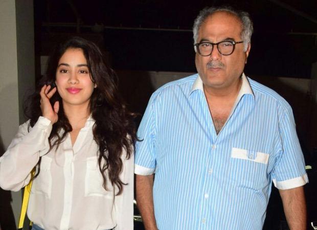 Boney Kapoor watches Janhvi Kapoor's film Roohi; gets emotional