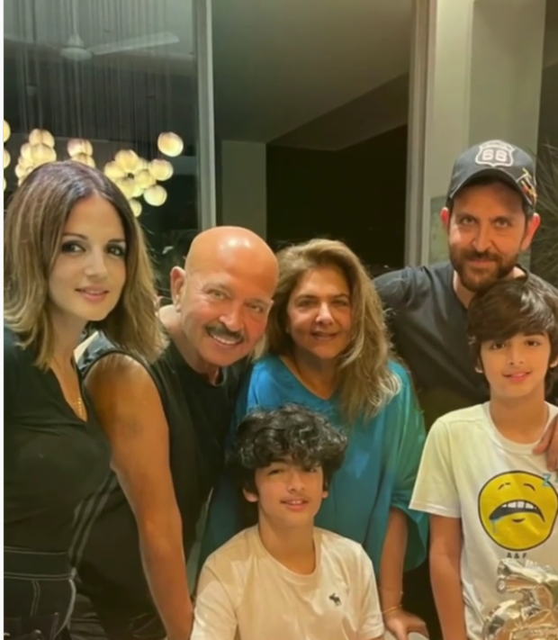 Hrithik Roshan, ex-wife Sussanne Khan reunite to celebrate son Hrehaan's 15th birthday