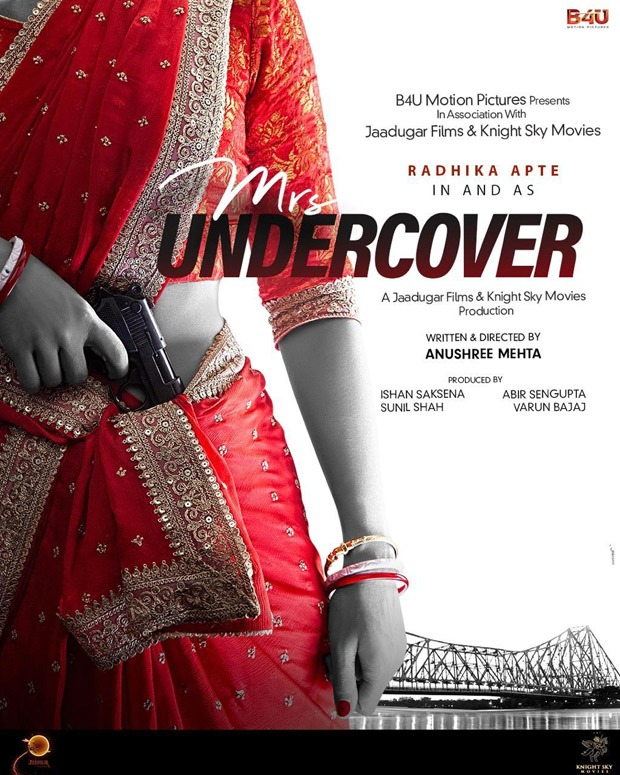 Radhika Apte to star in spy entertainer Mrs. Undercover