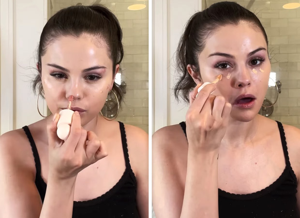 Selena Gomez gives dewy makeup tutorial and it is perfect way to keep your summer days glowy (2)