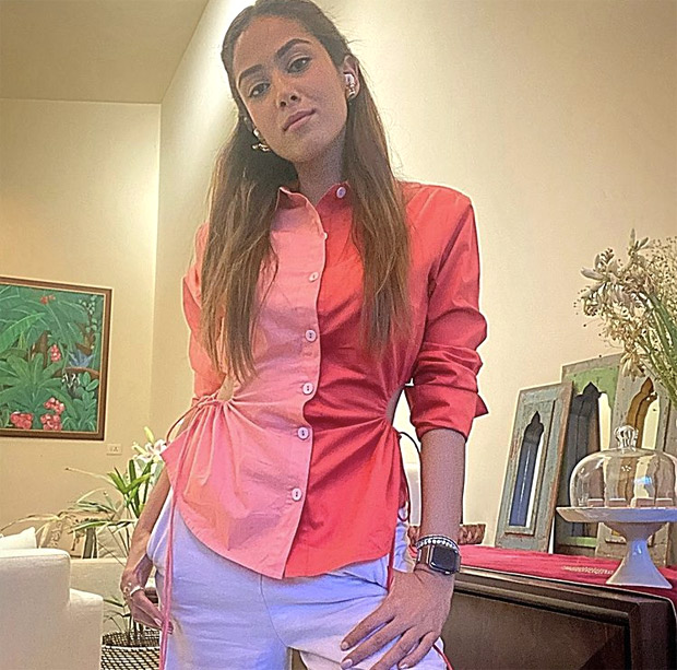 Shahid Kapoor's wife Mira Rajput aces colour blocking with her latest look and it is a must-have in your summer wardrobe