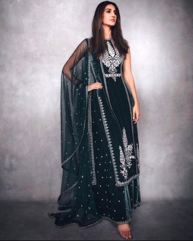 Vaani Kapoor looks elegant in olive green Anita Dongre creation worth Rs. 1.5 lakhs : Bollywood News - Bollywood Hungama