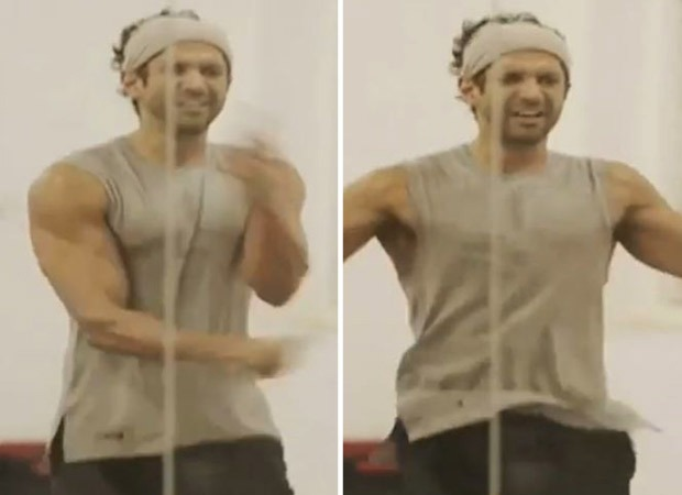 Farhan Akhtar shares BTS video of him training for 'Toofaan', says 'be light on your feet'