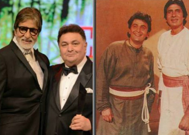 30 Years Of Ajooba: Amitabh Bachchan shares throwback pictures with Rishi Kapoor, Ranbir Kapoor and Shashi Kapoor