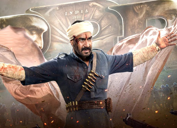 Ajay Devgn's intense look from RRR revealed on his birthday