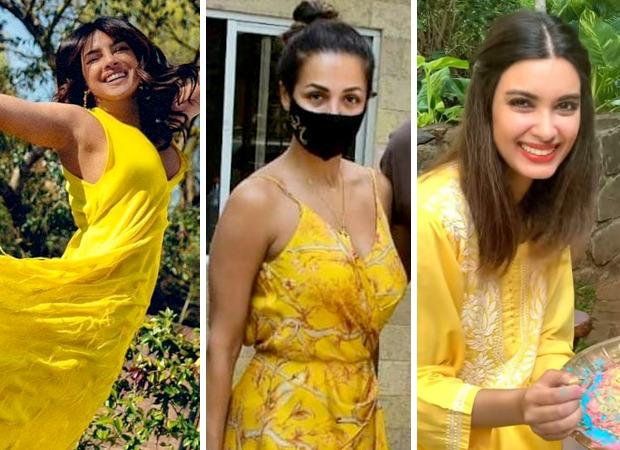 COLOUR OF THE WEEK - YELLOW: Priyanka Chopra, Malaika Arora, Diana Penty keep it vibrant