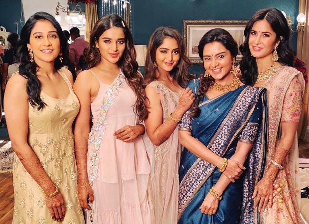 Katrina Kaif shares behind-the-scenes pictures from jewellery ad shoot with Regina Cassandra, Nidhhi Agerwal, Manju Warrier andReba Monica John