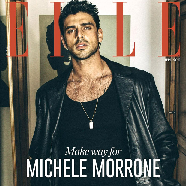 Netflix's 365 Days breakout starMichele Morrone looks sharp on the cover of Elle India