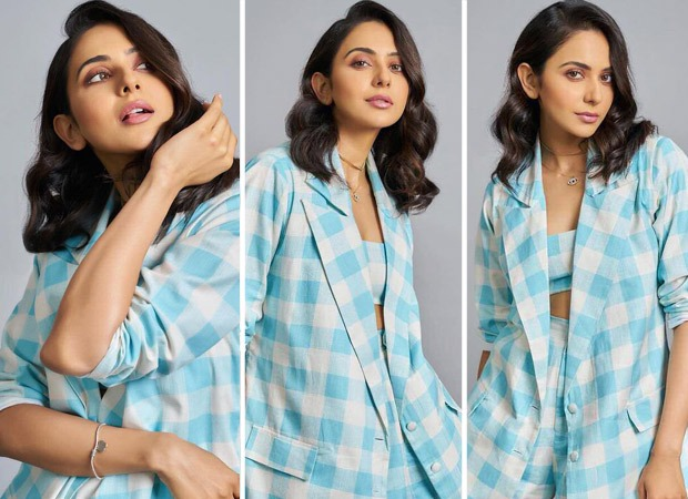 Rakul Preet Singh's blue and white co-ord set worth Rs. 12,000 is something you want to live in right now