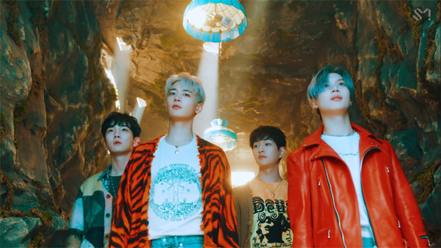 SHINee encounters deep feelings while exploring underwater world in colourful 'Atlantis' music video