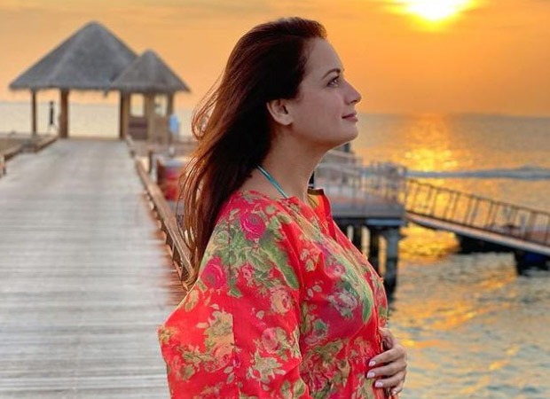 GOOD NEWS! Dia Mirza announces her pregnancy with a picture of her baby bump