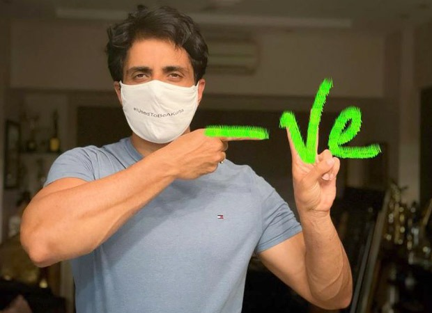 Sonu Sood tests negative for COVID-19 a week after testing positive