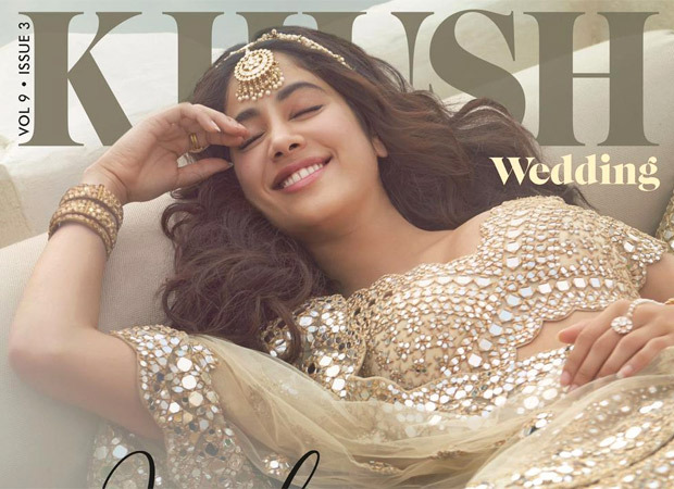Janhvi Kapoor shares pictures of herself shot for a wedding magazine cover; explains posting pictures amidst national crisis
