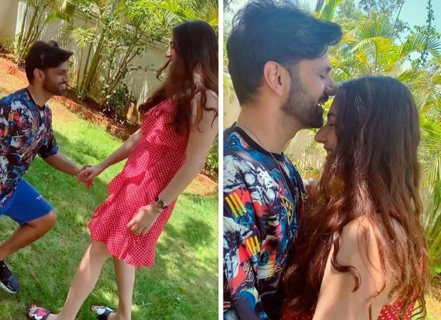 """Real ke saath reel,"" says Rahul Vaidya as he posts a romantic video with Disha Parmar"