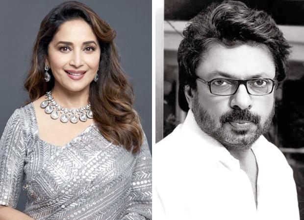Madhuri Dixit to reunite with Sanjay Leela Bhansali for a mujra in Heera Mandi