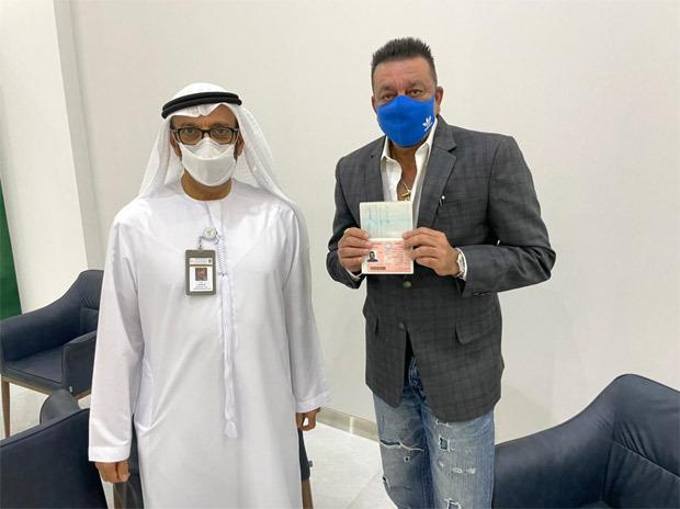 Sanjay Dutt thanks UAE government for granting him golden visa