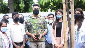 Abhishek Bachchan supports adopt a fallen tree pit campaign by a tree plantation