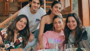 Alia Bhatt steps out for brunch with Shaheen Bhatt, Anushka and Akansha Ranjan Kapoor and school friends
