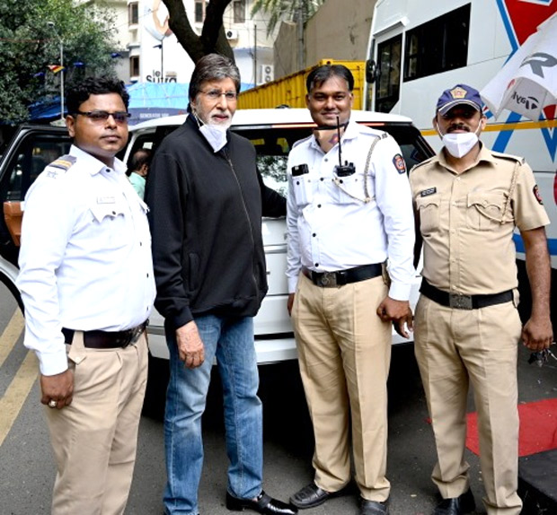 """Amitabh Bachchan shares his experience on working amidst global pandemic – """"It's getting into car, getting out and straight into the shot"""""""