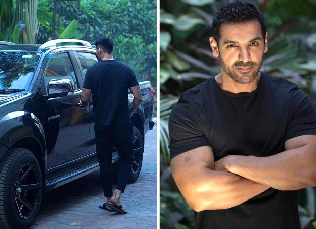 John Abraham joins YRF's Pathan shoot in Mumbai