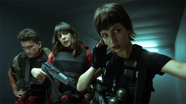 Money Heist season 5 first look images show explosive chaos in Bank of Spain