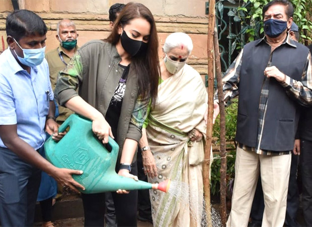 Sonakshi Sinha adopts a tree after large number of trees uprooted due to Cyclone Tauktae