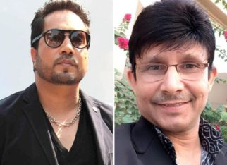Mika Singh reaches outside KRK's house amid a war of words; says he is his son but wants to teach him a lesson